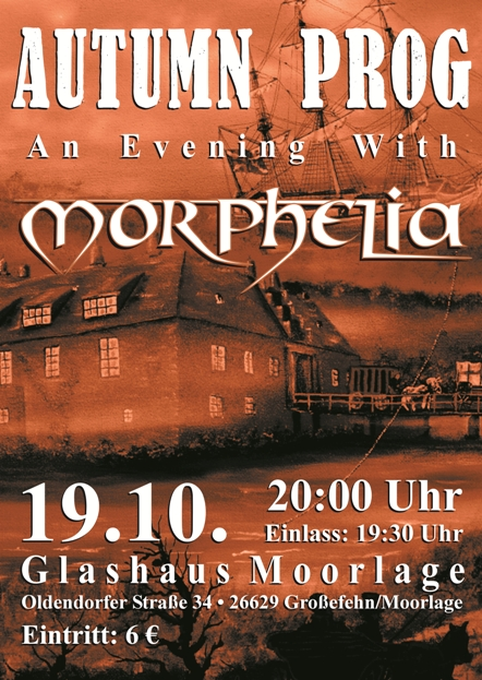 Morphelia live at Glashaus Moorlage